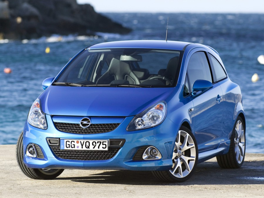 Opel Corsa OPC хетчбэк 3-дв., 2006–2011, D - отзывы, фото и характеристики на Car.ru