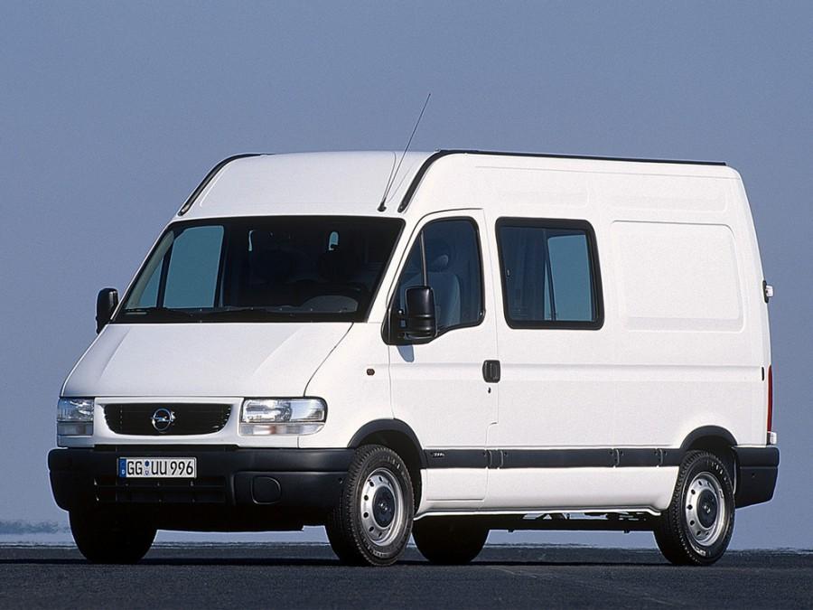 Opel Movano фургон 2-дв., 1 поколение - отзывы, фото и характеристики на Car.ru