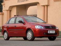Opel Corsa, C [рестайлинг], Седан, 2003–2006