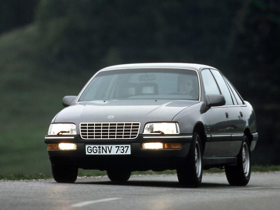 Opel Senator седан, 1988–1993, 2 поколение - отзывы, фото и характеристики на Car.ru