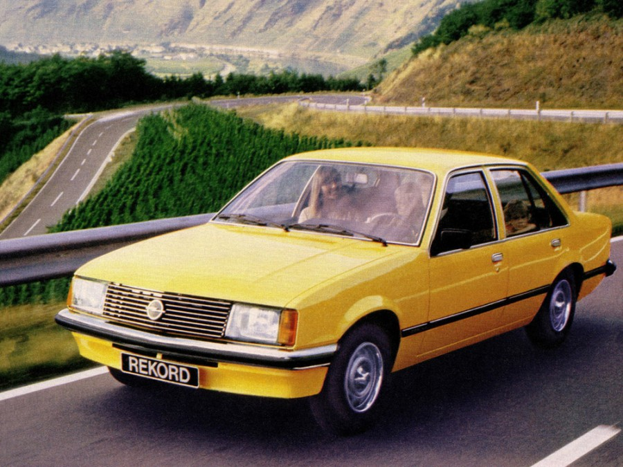 Opel Rekord седан 4-дв., E - отзывы, фото и характеристики на Car.ru