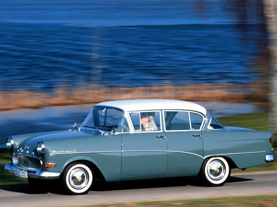 Opel Rekord седан 4-дв., P1 - отзывы, фото и характеристики на Car.ru