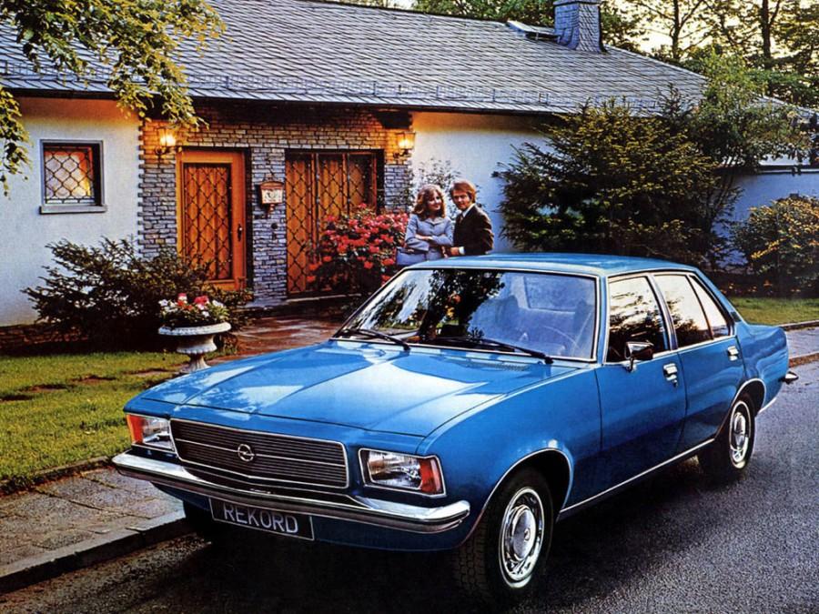 Opel Rekord седан 4-дв., D - отзывы, фото и характеристики на Car.ru