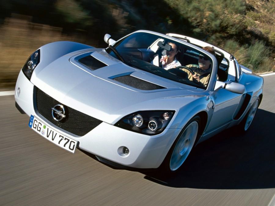 Opel Speedster Turbo тарга 2-дв., 2000–2005, 1 поколение - отзывы, фото и характеристики на Car.ru