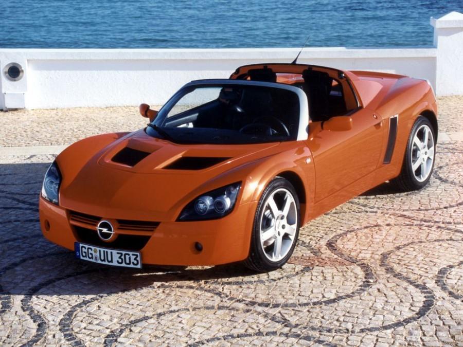 Opel Speedster тарга 2-дв., 2000–2005, 1 поколение - отзывы, фото и характеристики на Car.ru