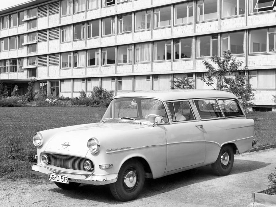 Opel Rekord универсал, P1 - отзывы, фото и характеристики на Car.ru