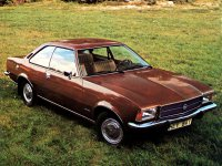 Opel Rekord, D, Купе