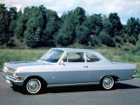 Opel Rekord, A, Купе