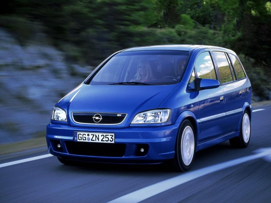 Opel Zafira OPC минивэн 5-дв., 2003–2005, A [рестайлинг] - отзывы, фото и характеристики на Car.ru