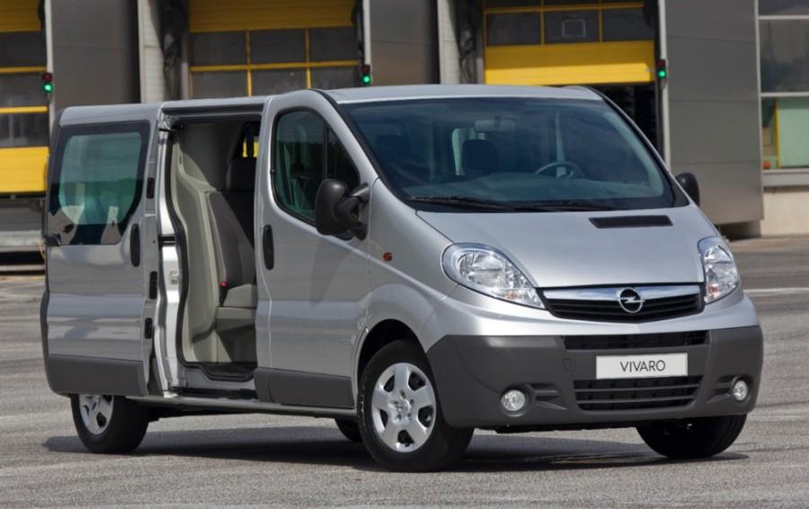 Opel Vivaro Combi фургон 4-дв., 2006–2016, 1 поколение [рестайлинг] - отзывы, фото и характеристики на Car.ru
