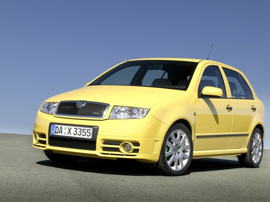 Skoda Fabia RS хетчбэк 5-дв., 2002–2007, 6Y [рестайлинг] - отзывы, фото и характеристики на Car.ru