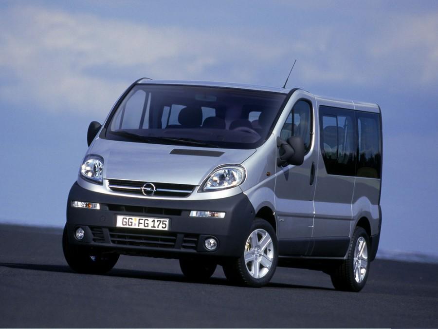 Opel Vivaro микроавтобус, 2002–2006, 1 поколение - отзывы, фото и характеристики на Car.ru