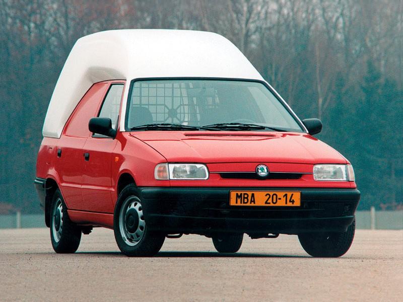 Skoda Felicia фургон, 1994–2000, 1 поколение - отзывы, фото и характеристики на Car.ru