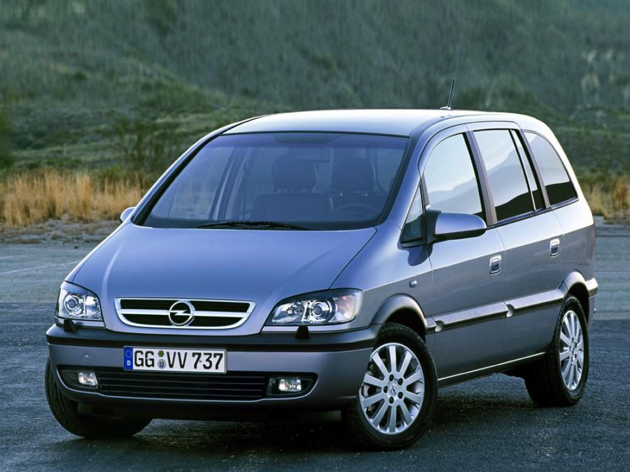 Opel Zafira минивэн 5-дв., 2003–2005, A [рестайлинг] - отзывы, фото и характеристики на Car.ru