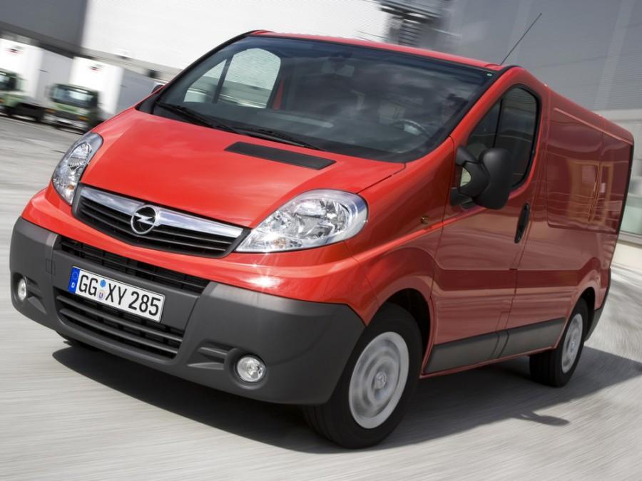 Opel Vivaro фургон 4-дв., 2006–2016, 1 поколение [рестайлинг] - отзывы, фото и характеристики на Car.ru