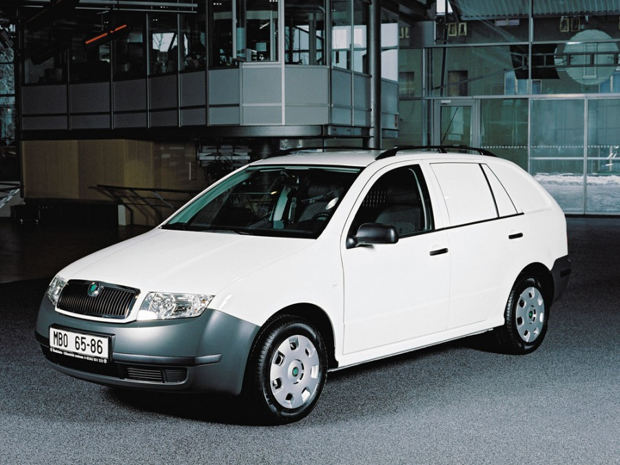Skoda Fabia Praktik фургон, 2002–2007, 6Y [рестайлинг] - отзывы, фото и характеристики на Car.ru