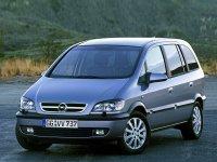 Opel Zafira, A [рестайлинг], Минивэн 5-дв., 2003–2005