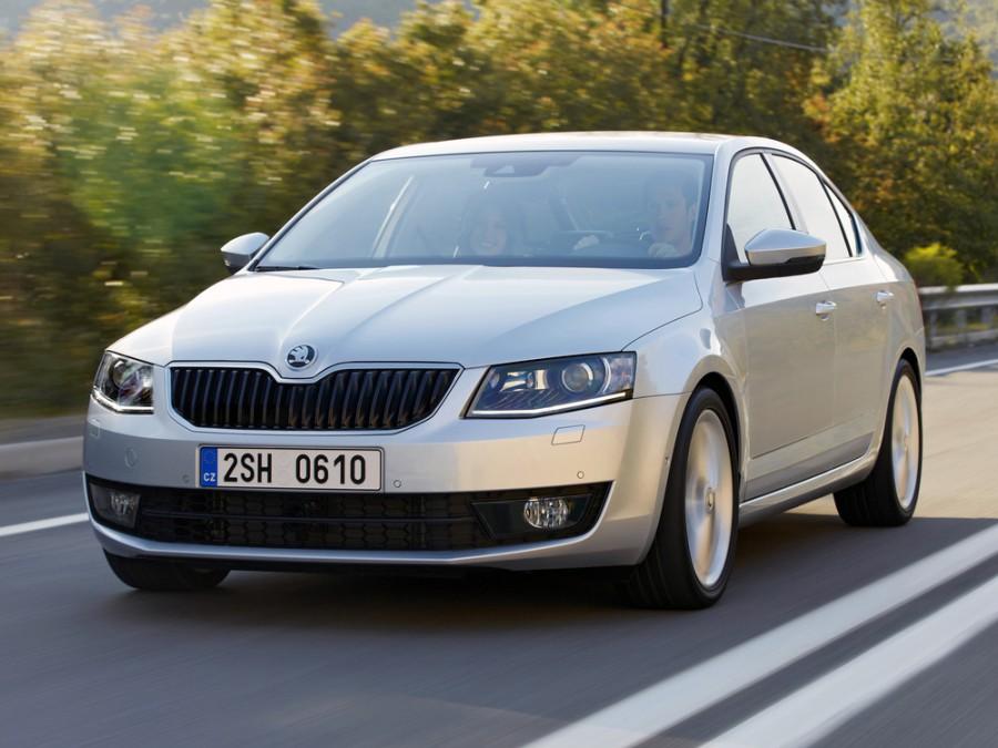 Skoda Octavia лифтбэк 5-дв., 2013–2016, 3 поколение - отзывы, фото и характеристики на Car.ru