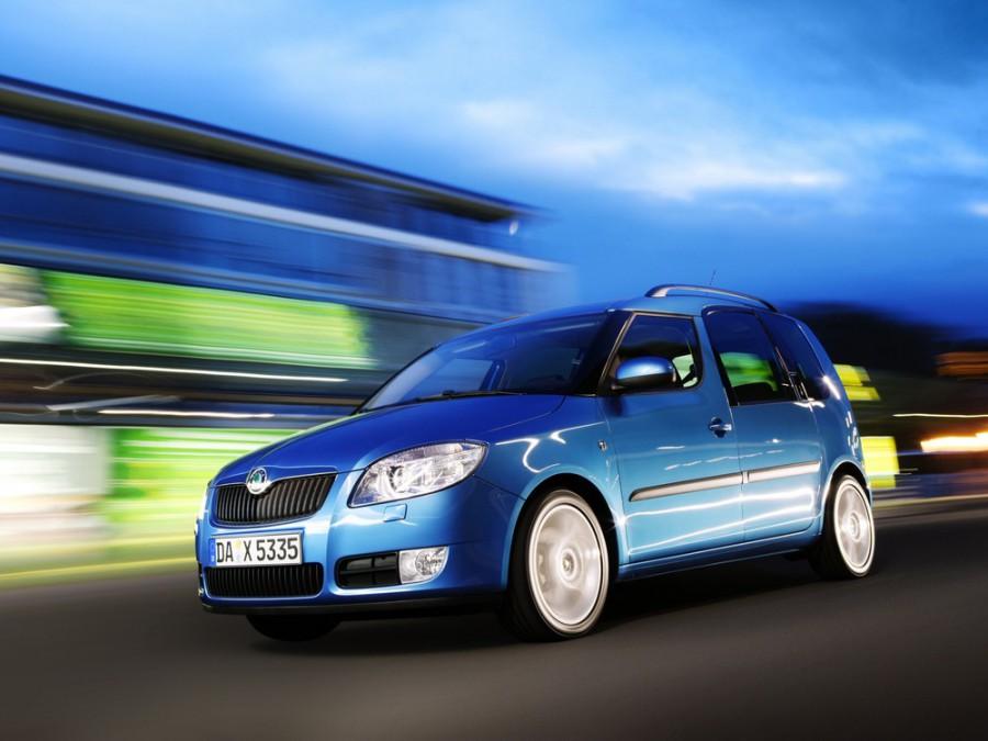 Skoda Roomster минивэн 5-дв., 2006–2010, 1 поколение - отзывы, фото и характеристики на Car.ru