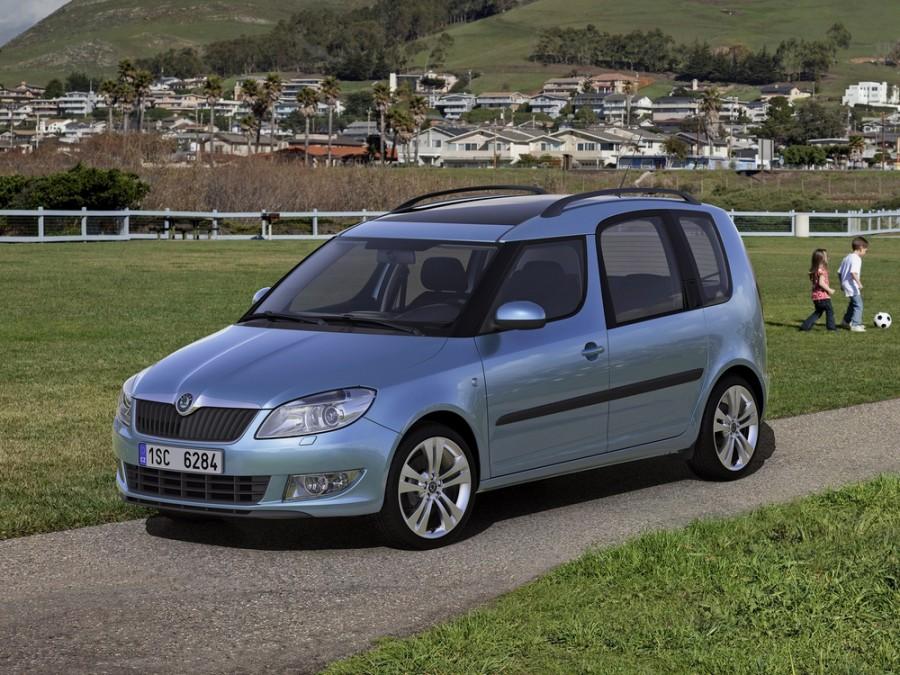Skoda Roomster минивэн 5-дв., 2010–2016, 1 поколение [рестайлинг] - отзывы, фото и характеристики на Car.ru