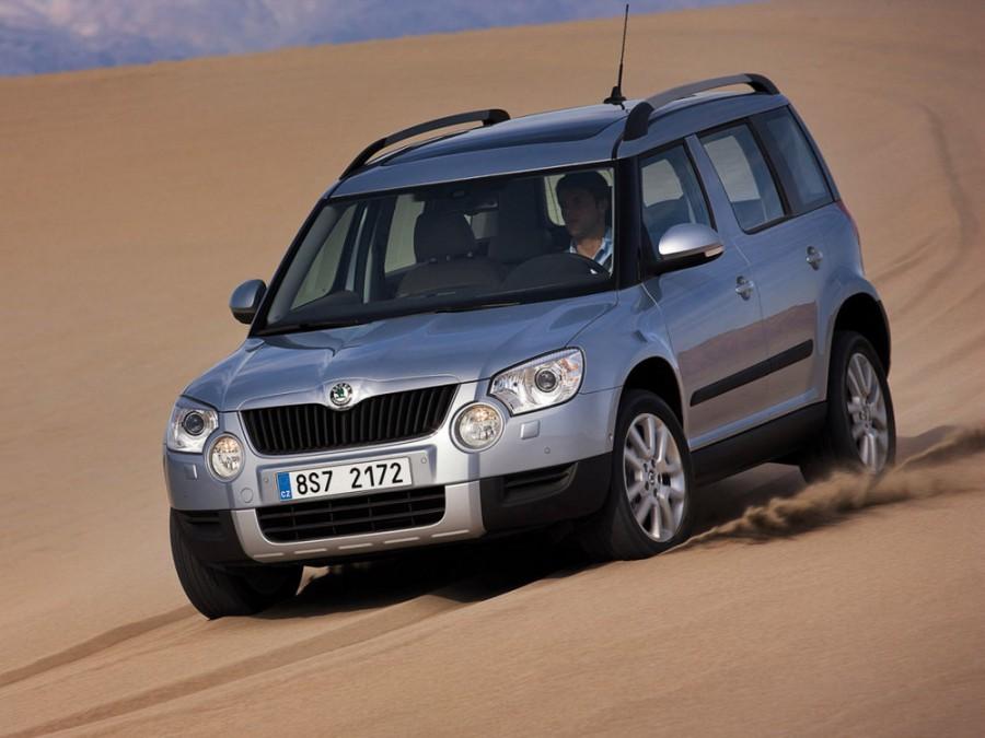 Skoda Yeti кроссовер 5-дв., 2009–2013, 1 поколение - отзывы, фото и характеристики на Car.ru