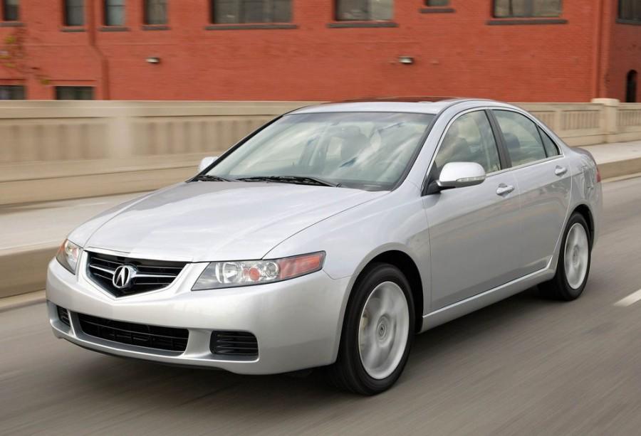Acura TSX седан, 2003–2008, 1 поколение - отзывы, фото и характеристики на Car.ru