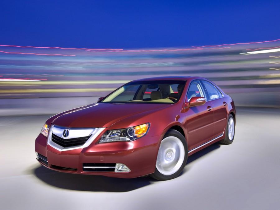 Acura RL седан, 2008–2010, KB2 - отзывы, фото и характеристики на Car.ru