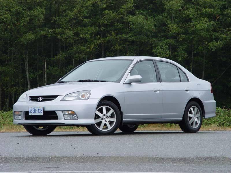 Acura EL седан, 2001–2003, 2 поколение - отзывы, фото и характеристики на Car.ru