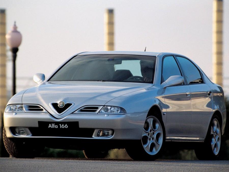 AlfaRomeo 166 седан, 1998–2007, 936 - отзывы, фото и характеристики на Car.ru