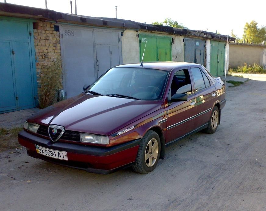 AlfaRomeo 155 седан, 1992–1995, 167 - отзывы, фото и характеристики на Car.ru