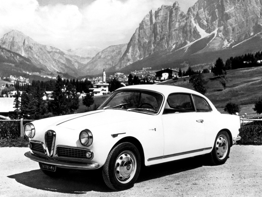 AlfaRomeo Giulietta Sprint купе 2-дв., 1959–1962, 750/101 [рестайлинг] - отзывы, фото и характеристики на Car.ru