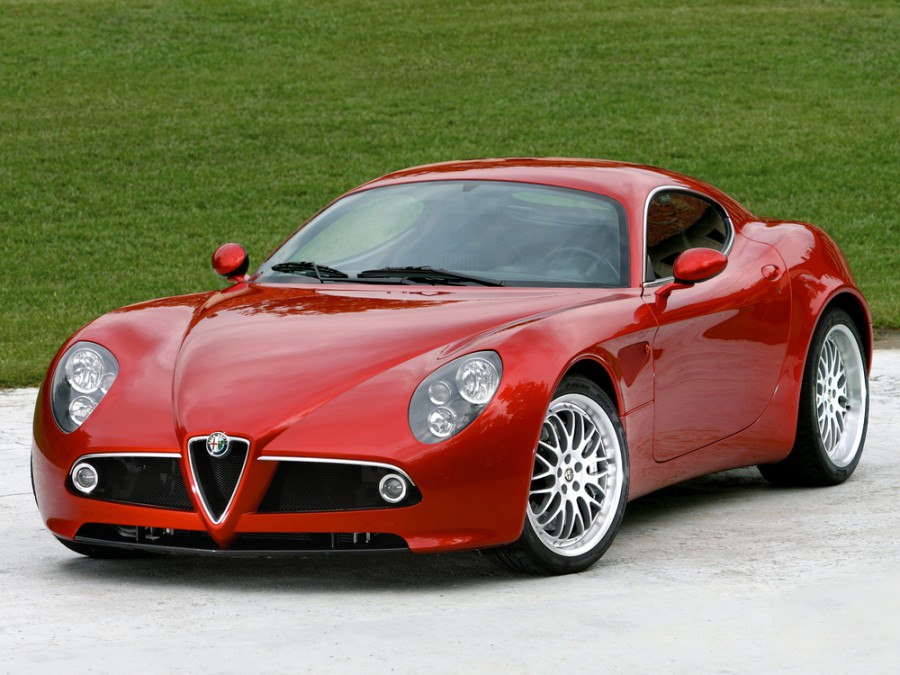 AlfaRomeo 8C Competizione купе, 2007–2010, 1 поколение - отзывы, фото и характеристики на Car.ru