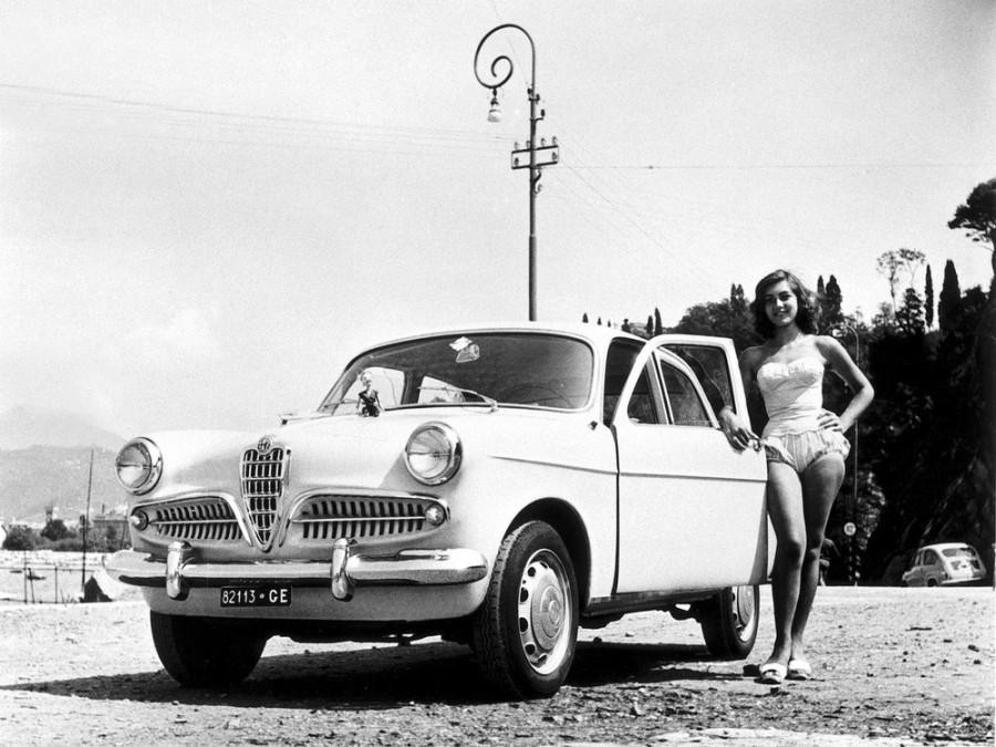 AlfaRomeo Giulietta Berlina седан, 1954–1959, 750/101 - отзывы, фото и характеристики на Car.ru