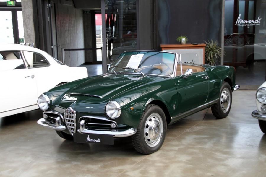 AlfaRomeo Giulietta Spider кабриолет, 1959–1962, 750/101 [рестайлинг] - отзывы, фото и характеристики на Car.ru