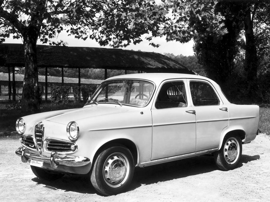 AlfaRomeo Giulietta Berlina седан, 1959–1962, 750/101 [рестайлинг] - отзывы, фото и характеристики на Car.ru