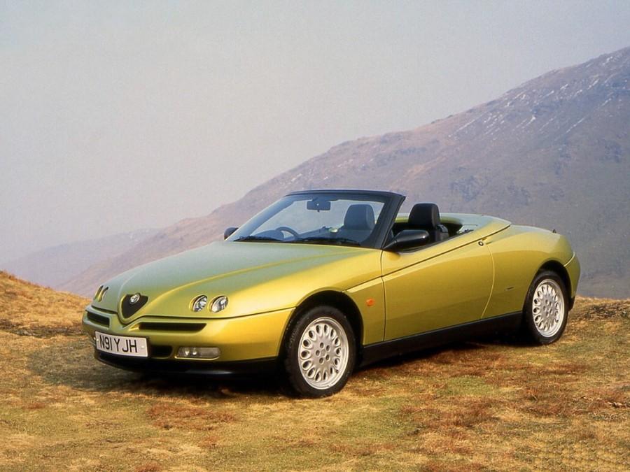 AlfaRomeo Spider родстер, 1995–2006, 916 - отзывы, фото и характеристики на Car.ru