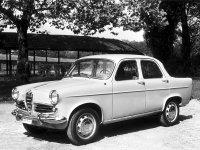 AlfaRomeo Giulietta, 750/101 [рестайлинг], Berlina седан, 1959–1962