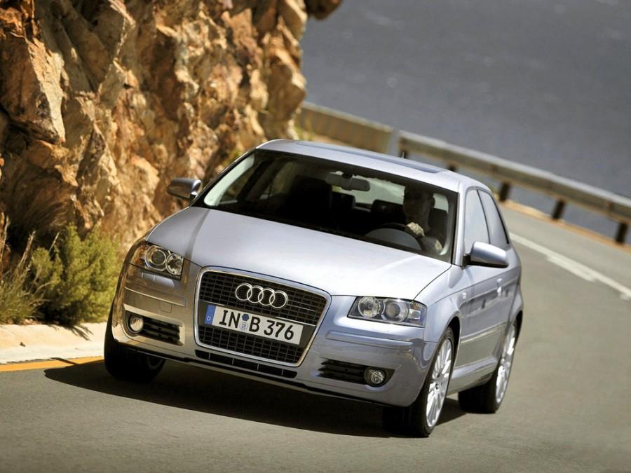 Audi A3 хетчбэк 3-дв., 2003–2008, 8P/8PA [рестайлинг] - отзывы, фото и характеристики на Car.ru
