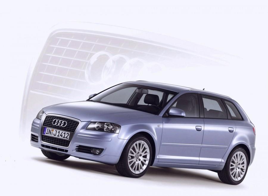 Audi A3 Sportback хетчбэк 5-дв., 2003–2008, 8P/8PA [рестайлинг] - отзывы, фото и характеристики на Car.ru