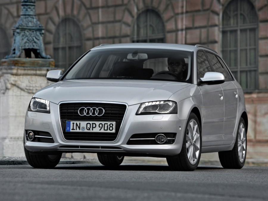 Audi A3 Sportback хетчбэк 5-дв., 2008–2013, 8P/8PA [2-й рестайлинг] - отзывы, фото и характеристики на Car.ru