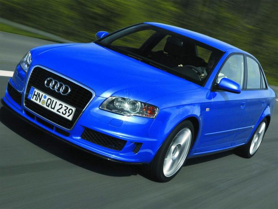 Audi A4 DTM седан, 2004–2008, B7 - отзывы, фото и характеристики на Car.ru