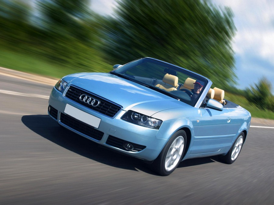 Audi A4 кабриолет, 2000–2005, B6 - отзывы, фото и характеристики на Car.ru