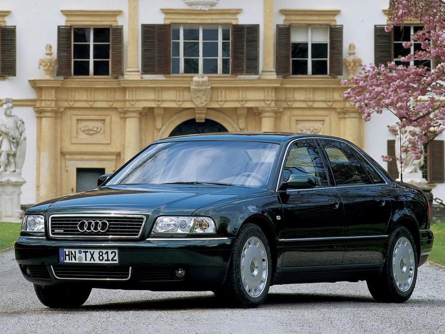 Audi A8 седан 4-дв., 1999–2002, D2/4D [рестайлинг] - отзывы, фото и характеристики на Car.ru