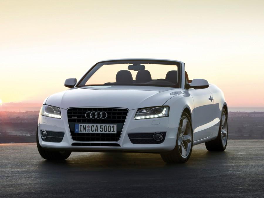 Audi A5 кабриолет, 2007–2011, 8T - отзывы, фото и характеристики на Car.ru