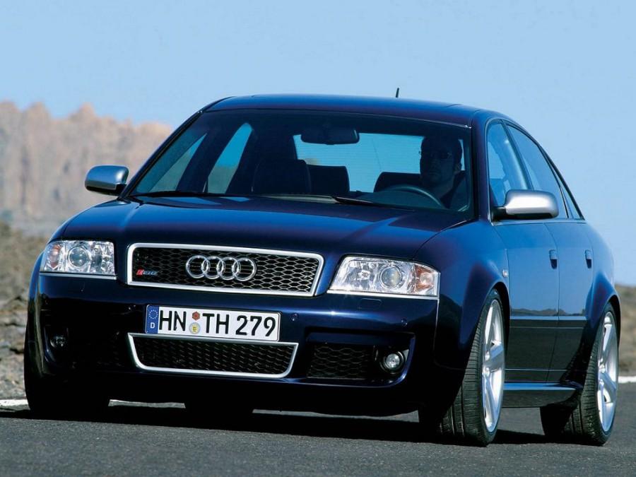 Audi RS6 седан, 2002–2004, C5 - отзывы, фото и характеристики на Car.ru