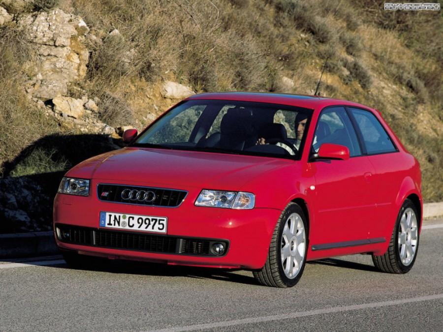 Audi S3 хетчбэк, 1999–2001, 8L - отзывы, фото и характеристики на Car.ru