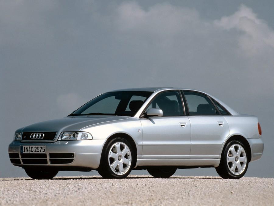 Audi S4 седан 4-дв., 1997–2001, B5/8D - отзывы, фото и характеристики на Car.ru