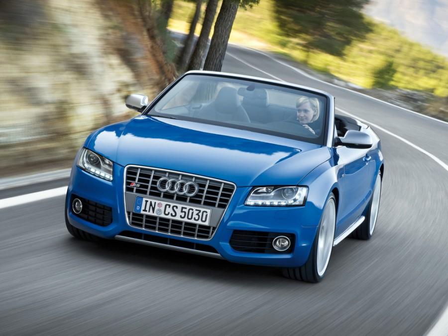 Audi S5 кабриолет, 2008–2011, 8T - отзывы, фото и характеристики на Car.ru