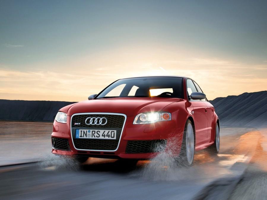 Audi RS4 седан, 2005–2008, B7 - отзывы, фото и характеристики на Car.ru