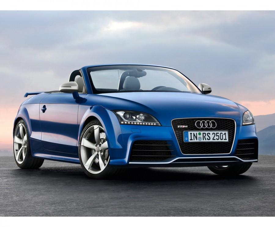 Audi TT RS родстер 2-дв., 2010–2014, 8J [рестайлинг] - отзывы, фото и характеристики на Car.ru